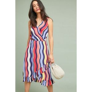 NWT PLENTY x Anthropologie | daphne ruffle dress